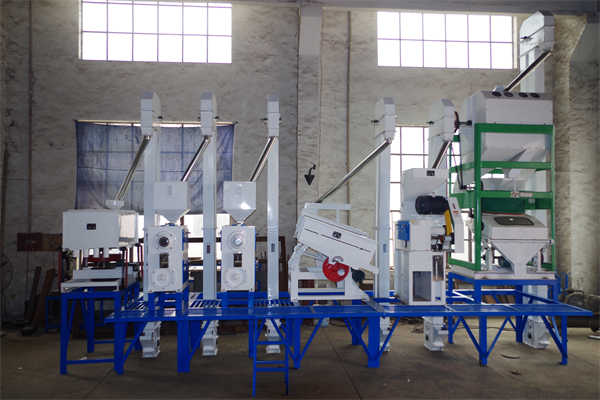 30TPD Complete Set of Rice Milling Equipment